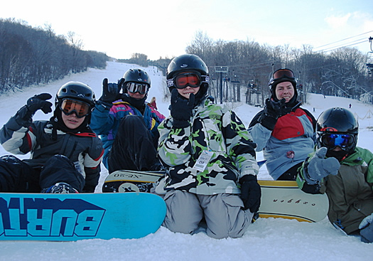 Skiing and Snowboarding at Mount Snow